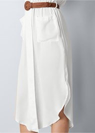 Alternate view Belted Midi Shirt Dress