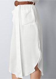 Alternate view Belted Midi Shirt Dress