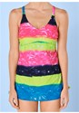 Alternate view Adjustable Long Tankini Top