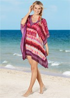 oversized v-neck poncho