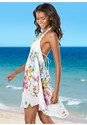 Front View Open Back Tassel Cover-Up