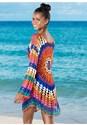 Back View Crochet Detail Cover-Up
