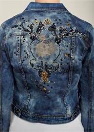 Alternate view Embellished Jean Jacket
