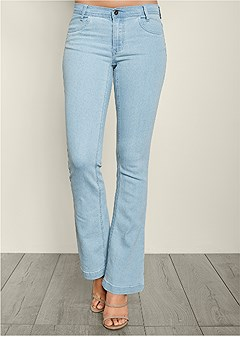 casual boot cut jeans