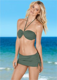 Shapely Ruched Bandeau Top