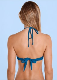 Alternate View Shapely Ruched Bandeau Top