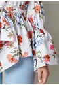 Alternate view Floral Print Bow Front Top