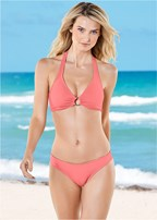 scoop front moderate bikini bottom