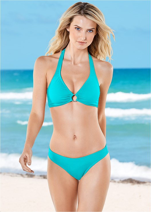 7e6bb4c7b5 Aqua Reef SPORT HALTER BIKINI TOP from VENUS