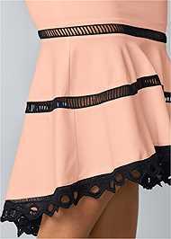 Alternate view High Low Midi Skirt