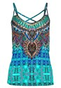 Alternate view Embellished Print Tank Top