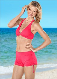 Front view Adjustable Side Swim Short