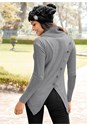 Back View Button Detail Sweater