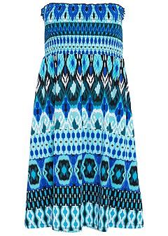 tribal smocked dress