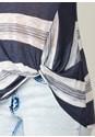 Alternate View Stripe Knot Detail Sweater