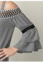Alternate view Ruffle Sleeve Gingham Top