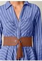 Alternate View Belted Shirt Dress