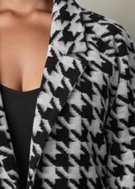 Alternate View Print Color Block Coat