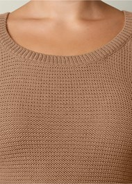 Alternate view Cut Out Sleeve Sweater