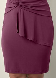 Alternate view Drape Detail Dress