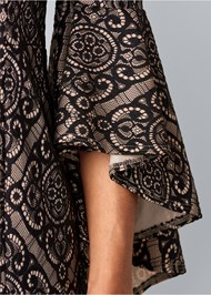 Alternate View Sleeve Detail Dress