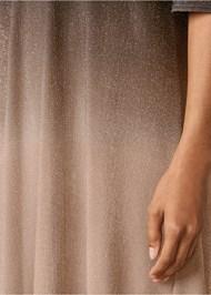 Alternate View Cold Shoulder Glitter Dress