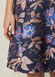 Alternate View V-Neck Flare Dress