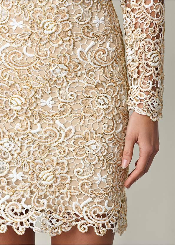 Alternate View Open Back Lace Dress
