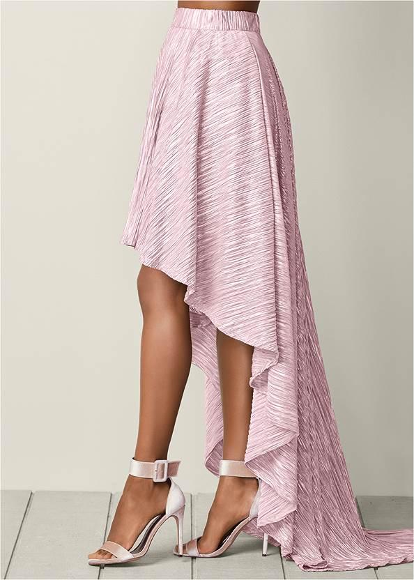 Alternate View High Low Skirt