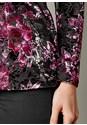 Alternate View Burnout Velvet Lace Top