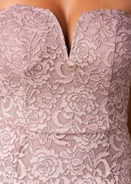 Alternate view Ombre Lace Long Dress