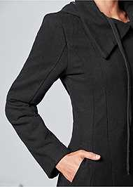 Alternate View Handkerchief Hem Coat