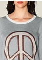 Alternate view Peace Sign Sweater