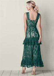 Back View Long Lace Dress