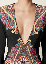 Alternate view Printed V-Neck Dress