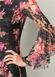 Alternate View Off The Shoulder Lace Dress