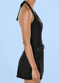 Alternate View Slimming Swim Dress