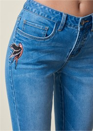 Alternate view Embroidered Jeans