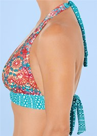 Alternate view Sash Halter Bikini Top