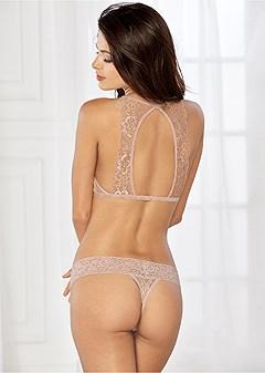 natural beauty lurex bra