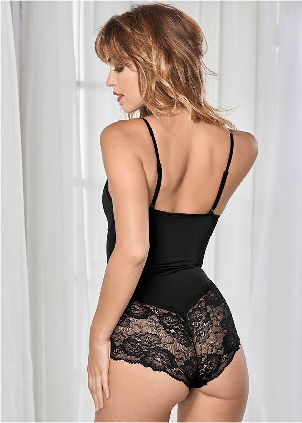 Back view Confidence Shaping Romper