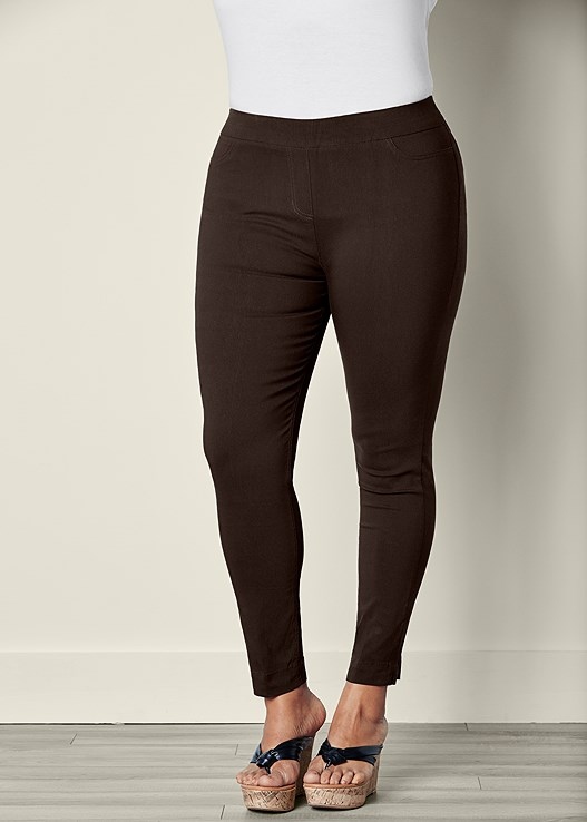 SLIMMING STRETCH JEGGINGS,SEAMLESS CAMI