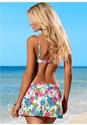 Back View Skirted Swim Bikini Bottom