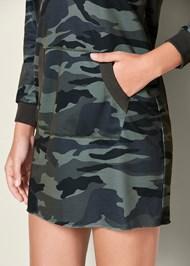 Alternate View Camo Printed Lounge Dress