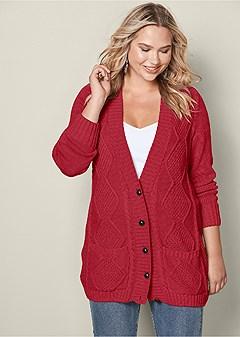 Sale Plus Size Sweaters Cardigans Venus