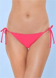 Detail front view String Side Bikini Bottom
