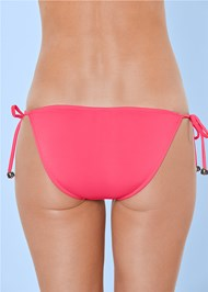Detail back view String Side Bikini Bottom