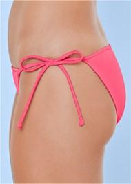 Detail side view String Side Bikini Bottom