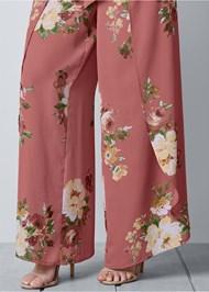 Alternate view Floral Open Leg Pants