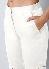 Alternate view Eyelet Detail Pants